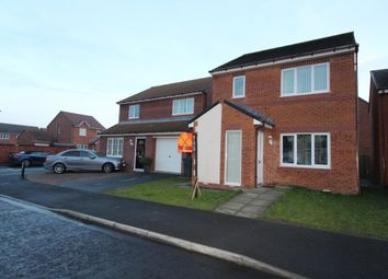 Thumbnail 3 bed detached house for sale in Alwin Close, Wallsend