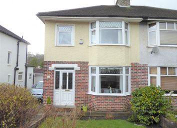 Thumbnail 3 bedroom semi-detached house for sale in Quarella Road, Bridgend