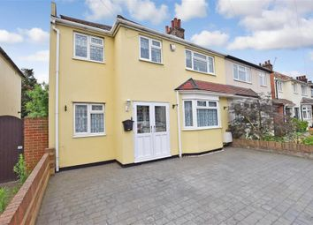 Thumbnail 4 bed semi-detached house for sale in Carrington Road, Dartford, Kent