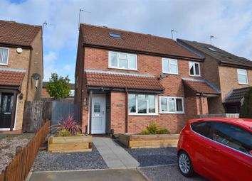 Thumbnail 2 bed town house for sale in Cumbrian Way, Shepshed, Loughborough