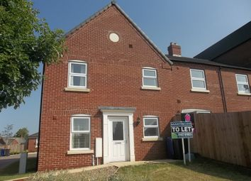 Thumbnail 1 bed town house to rent in Marshalls Rise, Gainsborough