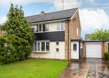 Thumbnail 3 bed semi-detached house for sale in Allington Drive, York