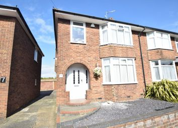 Thumbnail 3 bedroom semi-detached house to rent in Durham Road, Luton