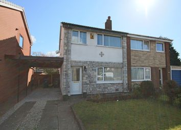 Thumbnail 3 bedroom semi-detached house to rent in Northleach Avenue, Penwortham, Preston