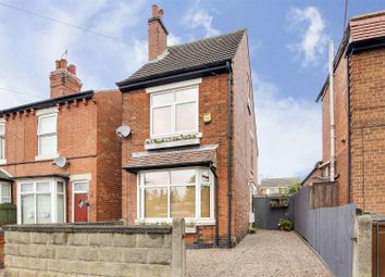 Thumbnail 3 bed detached house for sale in Piccadilly, Bulwell, Nottinghamshire