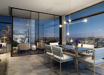 Thumbnail 3 bed flat for sale in Principal Tower, London