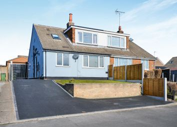Thumbnail 4 bed semi-detached bungalow for sale in Walton Close, Forest Town, Mansfield