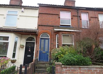 Thumbnail 3 bedroom terraced house for sale in Buxton Road, Norwich