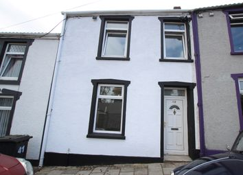 Thumbnail 4 bedroom terraced house for sale in Wind Street (M22), Aberdare