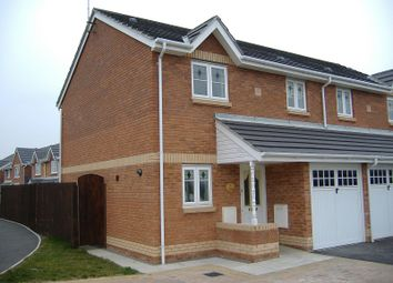 Thumbnail 3 bed property to rent in 41 Llys Pentre, Bridgend, Mid. Glamorgan.