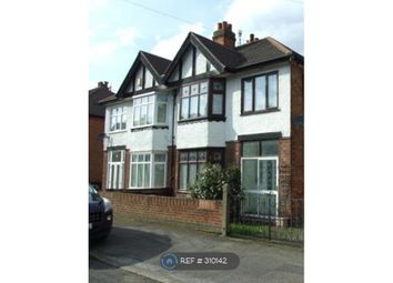 Thumbnail 4 bed semi-detached house to rent in Exton Road, Nottingham
