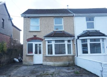 Thumbnail 3 bed semi-detached house for sale in Central Avenue, Cefn Fforest, Blackwood