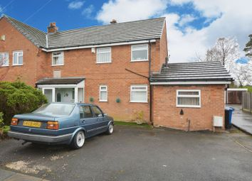 Thumbnail 3 bed semi-detached house for sale in Hambleton Road, Heald Green, Cheadle