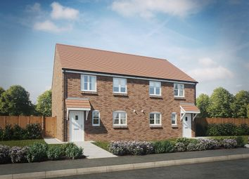 "Thumbnail 3 bed semi-detached house for sale in ""The Oving"" at City Fields Way, Tangmere, Chichester"