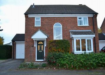 Thumbnail 3 bed detached house for sale in Becket Way, Spinney Hill, Northampton