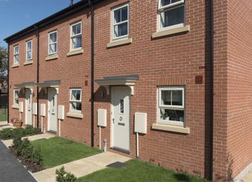 Thumbnail 3 bedroom town house for sale in Hadrian Court, Sherburn, Leeds