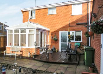 Thumbnail 3 bed detached house for sale in Grosvenor Close, Glen Parva, Leicester