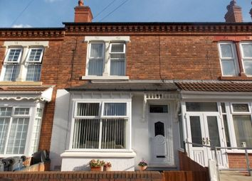 Thumbnail 3 bed terraced house to rent in Ellesmere Road, Saltley, Birmingham