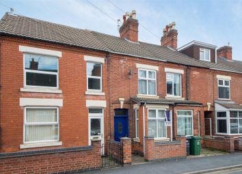 Thumbnail 3 bed terraced house for sale in Springfield Road, Shepshed, Loughborough