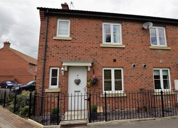 Thumbnail 3 bed end terrace house for sale in Fletton Road, Norton, Malton