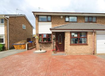 Thumbnail 3 bed semi-detached house for sale in Armstrong Close, Birchwood, Warrington