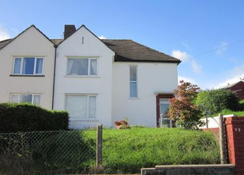Thumbnail 3 bed semi-detached house for sale in Fairways, Bargoed