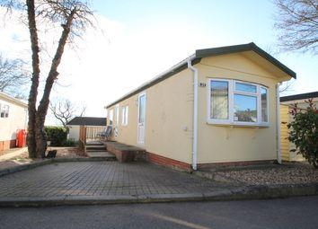 Thumbnail 2 bed mobile/park home for sale in Blueleighs Park, Chalk Hill Lane, Great Blakenham, Ipswich