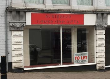 Thumbnail Retail premises to let in Totnes Road, Paignton