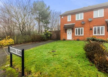 Thumbnail 2 bedroom semi-detached house for sale in Daffodil Close, Dudley