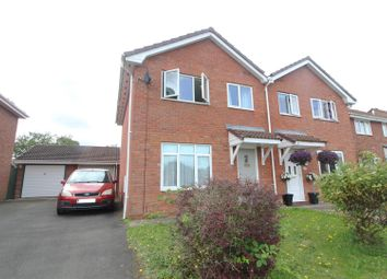 Thumbnail 3 bed semi-detached house for sale in Kynaston Drive, Wem, Shrewsbury