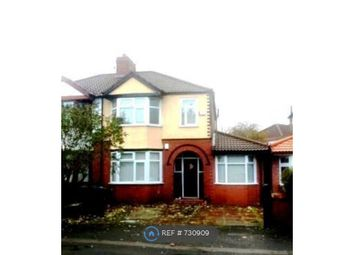 Thumbnail 5 bed semi-detached house to rent in Talbot Road, Manchester
