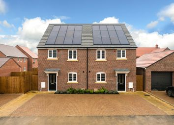 Thumbnail 3 bed semi-detached house for sale in Barford Road, Blunham, Bedford