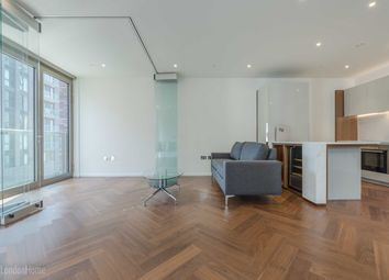 Thumbnail 1 bed flat for sale in Capital Building, Embassy Gardens, Vauxhall, London