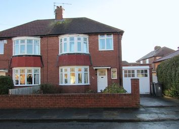 Thumbnail 3 bed semi-detached house for sale in Selwyn Avenue, Whitley Bay