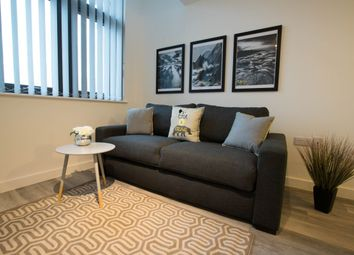 Thumbnail 1 bed flat to rent in Leigh Street, Liverpool