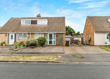 Thumbnail 3 bedroom semi-detached bungalow for sale in Falcutt Way, Kingsthorpe, Northampton