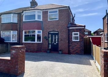 Thumbnail 3 bed semi-detached house for sale in Newlyn Drive, Sale, Cheshire, Greater Manchester