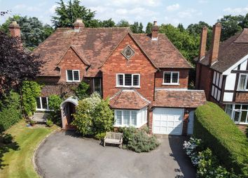 Thumbnail 5 bed detached house for sale in Blythe Way, Solihull