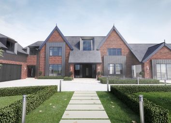Thumbnail 5 bed detached house for sale in Prestbury Road, Wilmslow