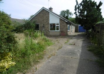 Thumbnail 3 bed detached bungalow for sale in 17 Stow Road, Willingham By Stow, Gainsborough, Lincolnshire