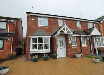 3 bed semi-detached house for sale in Robinson Close, Willington, Crook DL15