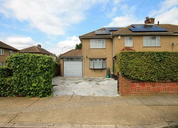 Thumbnail 4 bedroom semi-detached house for sale in Dunster Close, Romford