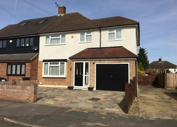 Thumbnail 4 bed semi-detached house for sale in Rochford Avenue, Chadwell Heath, Romford