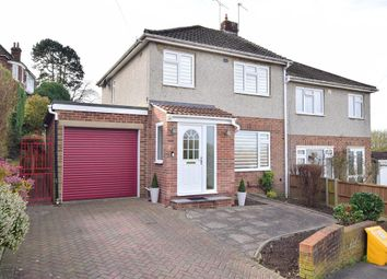 Thumbnail 3 bed semi-detached house for sale in Goddings Drive, Rochester, Kent