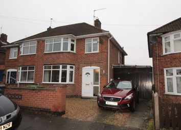 Thumbnail 3 bed semi-detached house to rent in Lynmouth Road, Leicester