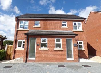 Thumbnail 2 bedroom semi-detached house for sale in Barons Close, Fakenham, Norfolk