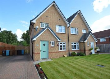 Thumbnail 3 bed semi-detached house for sale in Vesuvius Drive, Motherwell