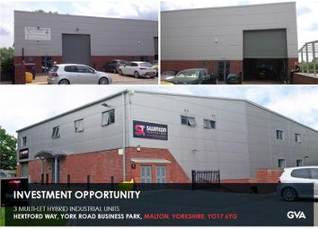 Thumbnail Warehouse to let in Swinton House, York Road Business Park, Hertford Way, Malton, North Yorkshire, UK