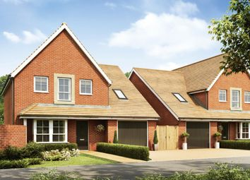 """Thumbnail 4 bed detached house for sale in """"Harrogate"""" at Broughton Crossing, Broughton, Aylesbury"""
