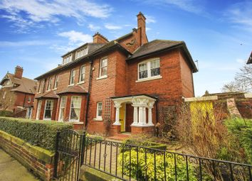 Thumbnail 5 bed semi-detached house for sale in Park Villas, The Green, Wallsend
